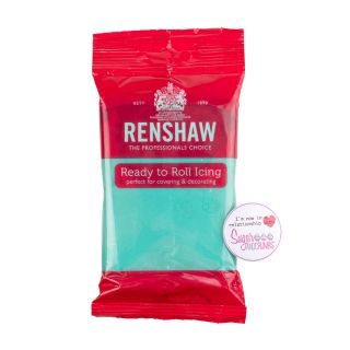 Renshaw Sugarpaste Ready to Roll JADE 250g