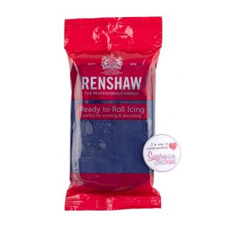 Renshaw Sugarpaste Ready to Roll NAVY 250g