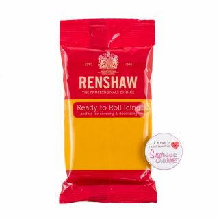 Renshaw Sugarpaste Ready to Roll AUTUMN GOLD 250g