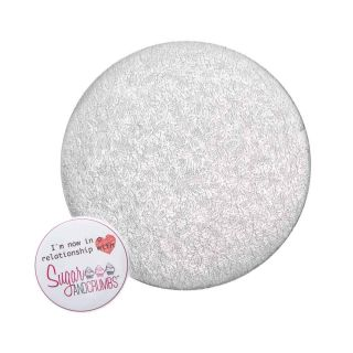 Cake Card Cut Edge ROUND 04 Inch