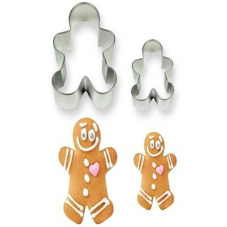 PME Cutters Gingerbread Man Set of 2