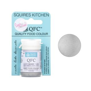 Squires Kitchen Dust LUSTRE SILVER