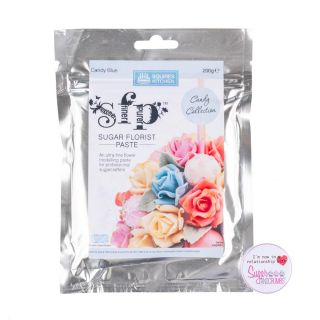 Squires Kitchen Florist Paste CANDY BLUE 200g