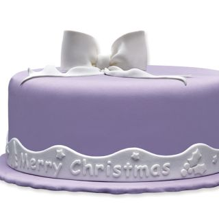 SugArt Sugarpaste Ribbon Merry Christmas No 91