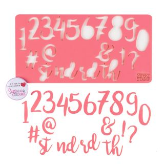 Sweet Stamp STYLISH Numbers