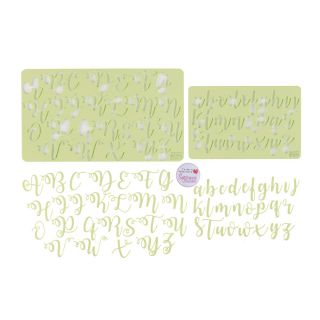 Sweet Stamp CURLY Letters