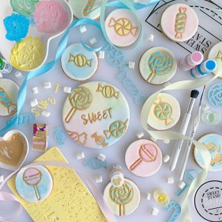 Sweet Stamp Elements CANDY SWEETS
