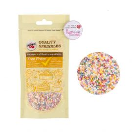 Quality Sprinkles Pearlised RAINBOW NON PAREILS 100g