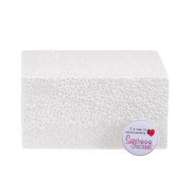 06x03 Inch SQUARE Straight Edged Cake Dummy