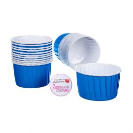 CULPITT Baking Cups PRIMARY BLUE Pack of 24