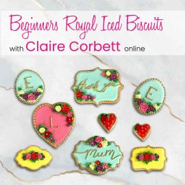 Beginners Royal Iced Biscuits with Claire Corbett Online