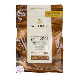 Callebaut FINEST BELGIAN MILK CHOCOLATE Recipe N°823 2.5Kg