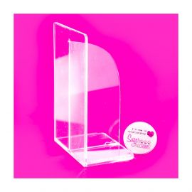 Clear Acrylic Smoothers Small RIGHT ANGLE 5.5 x 3.5 Inches