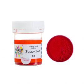 Colour Splash Dust MATT POPPY RED 5g