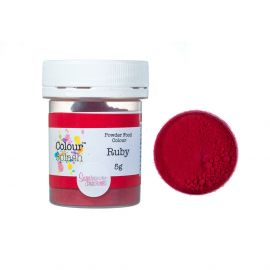 Colour Splash Dust MATT RUBY RED 5g