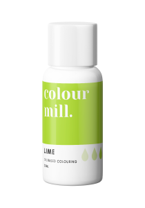 Colour Mill Oil Based Colouring LIME 20ml