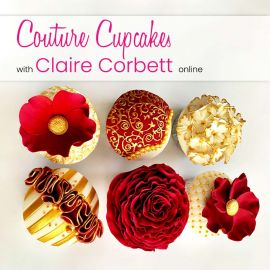 Couture Cupcakes with Claire Corbett Online