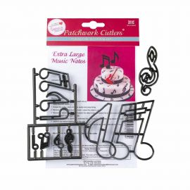 Patchwork Cutters Extra Large Music Notes