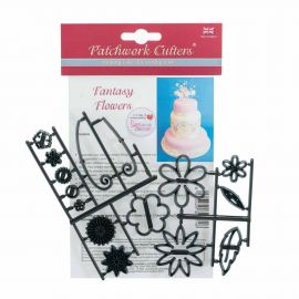 Patchwork Cutters FANTASY Flowers