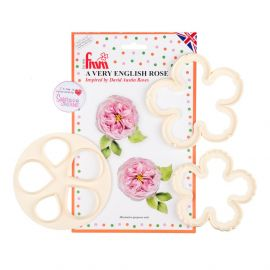 FMM A Very English Rose pack of 3