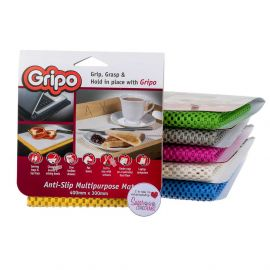 Gripo Anti Slip Mat 400x300mm OBLONG RANDOM COLOUR Pack of 1