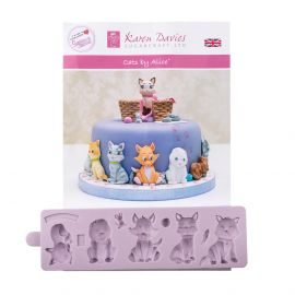 Karen Davies Silicone Mould CATS