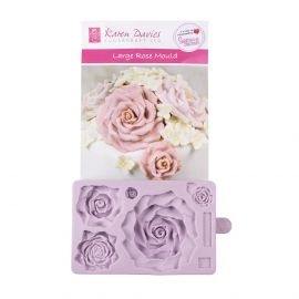 Karen Davies Silicone Mould Large Rose