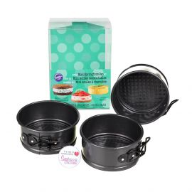 Wilton MINI SPRINGFORM TINS Set of 3