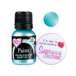 Rainbow Dust Paint PEARLESCENT BABY BLUE