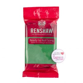 Renshaw Sugarpaste Ready to Roll EMERALD GREEN 250g