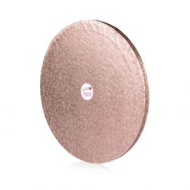 Cake Drum ROUND ROSE GOLD 10 Inch