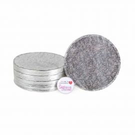 Cake Drum ROUND 06 Inch Pack of 5