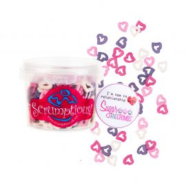 Scrumptious Glimmer Hearts DREAM Mix 50g