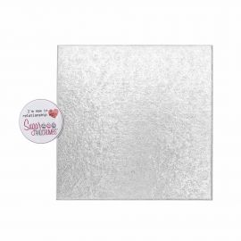 Cake Card Cut Edge SQUARE 05 Inch