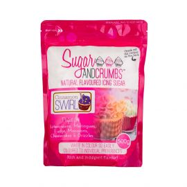 Sugar and Crumbs Natural Flavoured Icing Sugar CINNAMON SWIRL 500g