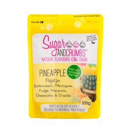 Sugar and Crumbs Natural Flavoured Icing Sugar PINEAPPLE 500g