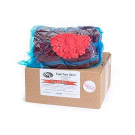 SugarPaste Direct Ready to Roll POST BOX RED 2.5Kg