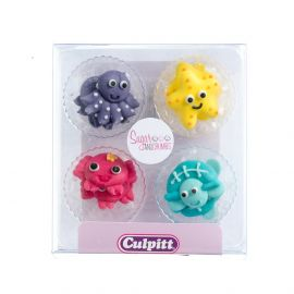 Culpitt Sugar Pipings UNDER THE SEA Pack of 12