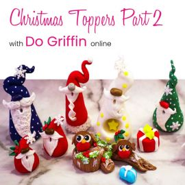 Christmas Cake Toppers Part 2 with Do Griffin Online